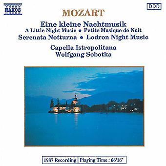 W.a. Mozart - Mozart: Eine Kleine Nachtmusik; Serenata Notturna; Lodron Night Music [CD] USA import
