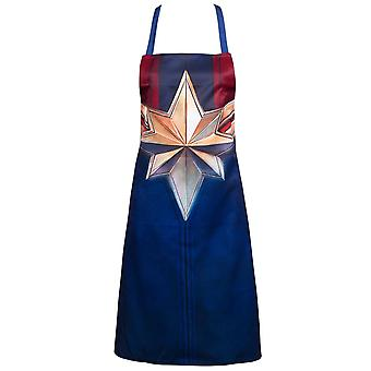 Captain Marvel Movie Costume Apron