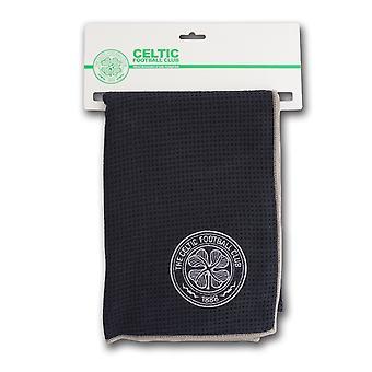 Premier Licensing Aqualock Large Mircofibre Golf Caddy Towel Celtic