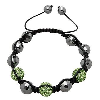 Carlo Monti JCM1149-592 - Women's bracelet with hematite - Fabric
