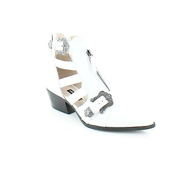 Neuf Womens ouest Carrillo bottines en cuir amande Toe Fashion