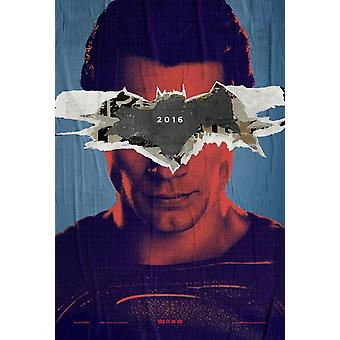 Batman V Superman Dawn Of Justice Original Movie Poster Double Sided Advance Style B