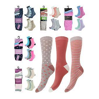 Soft Cotton Blend Bamboo Socks