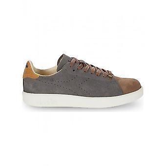 Diadora Heritage - Shoes - Sneakers - GAME_H_KIDSKIN_75069 - Men - darkgray,tan - 8