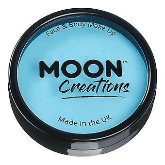 Moon Creations - Pro Face & Body Paint Cake Pots - Azul claro
