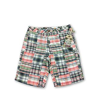 Tailor Vintage shorts in multi colour madras