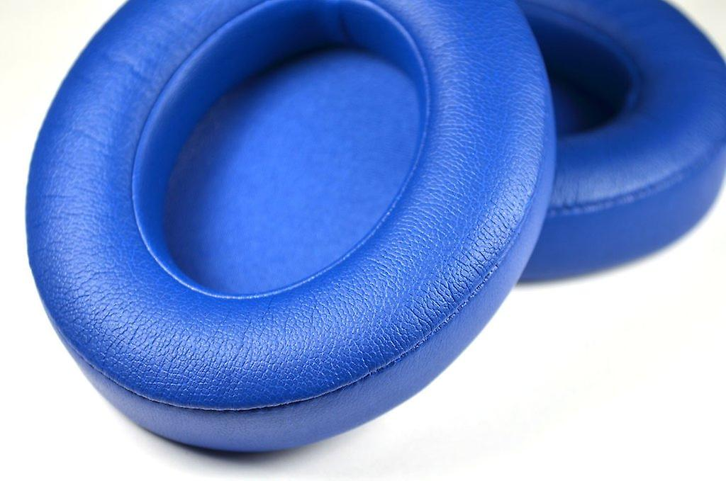 REYTID Replacement Blue Ear Pads Compatible with Beats By Dr. Dre Studio 3 Wireless HeadphonesCushion Kit