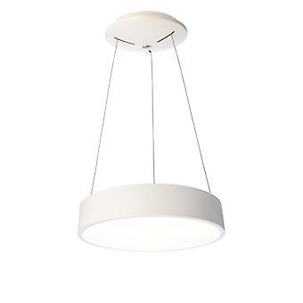 Lampe pendentif LED Sculptoris 45 3000K x 450mm aluminium blanc