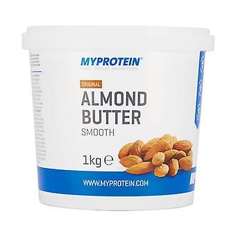Almond Butter Crunchy - Tub - 1kg - MyProtein