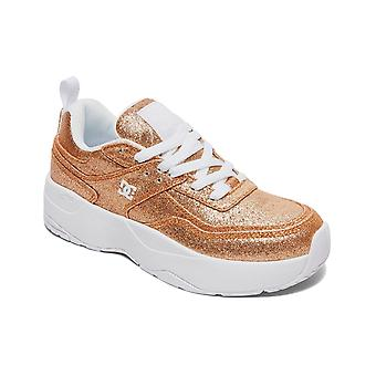 DC E Tribeka Platform Trainers in Gold