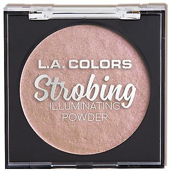 L.A. Colors Strobing Illuminating Powder Pink Flashing