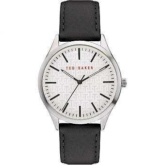 Ted Baker BKPMHF903 Men's Manhatt White Dial Wristwatch