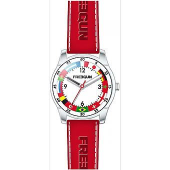 Shows Freegun EE5246 - leather red steel joint child