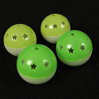Sharples Ruff ´N´ Tumble Nite ´N´ Day Glow Balls 4 Pack