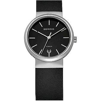 Bering watches mens watch titanium collection 11029-402