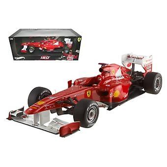 Ferrari 150 Italia Fernando Alonso 2011 Turkish GP Elite Edition 1/18 Diecast Model Car by Hotwheels