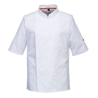 Portwest - MeshAir Pro Chefs Short Sleeved Kitchen Jacket