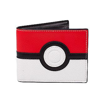 Pokémon Poké Ball Design Bi-Fold Wallet
