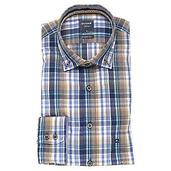 OLYMP Olymp Blue Shirt 4014 54 22