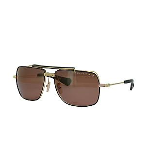 Dita Symeta-Type 403 DTS126 02 White Gold-Black/Brown Sunglasses