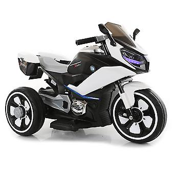 Children's Electric Motorcycle Cairo Three Plastic Wheels Music Function LED Lighting