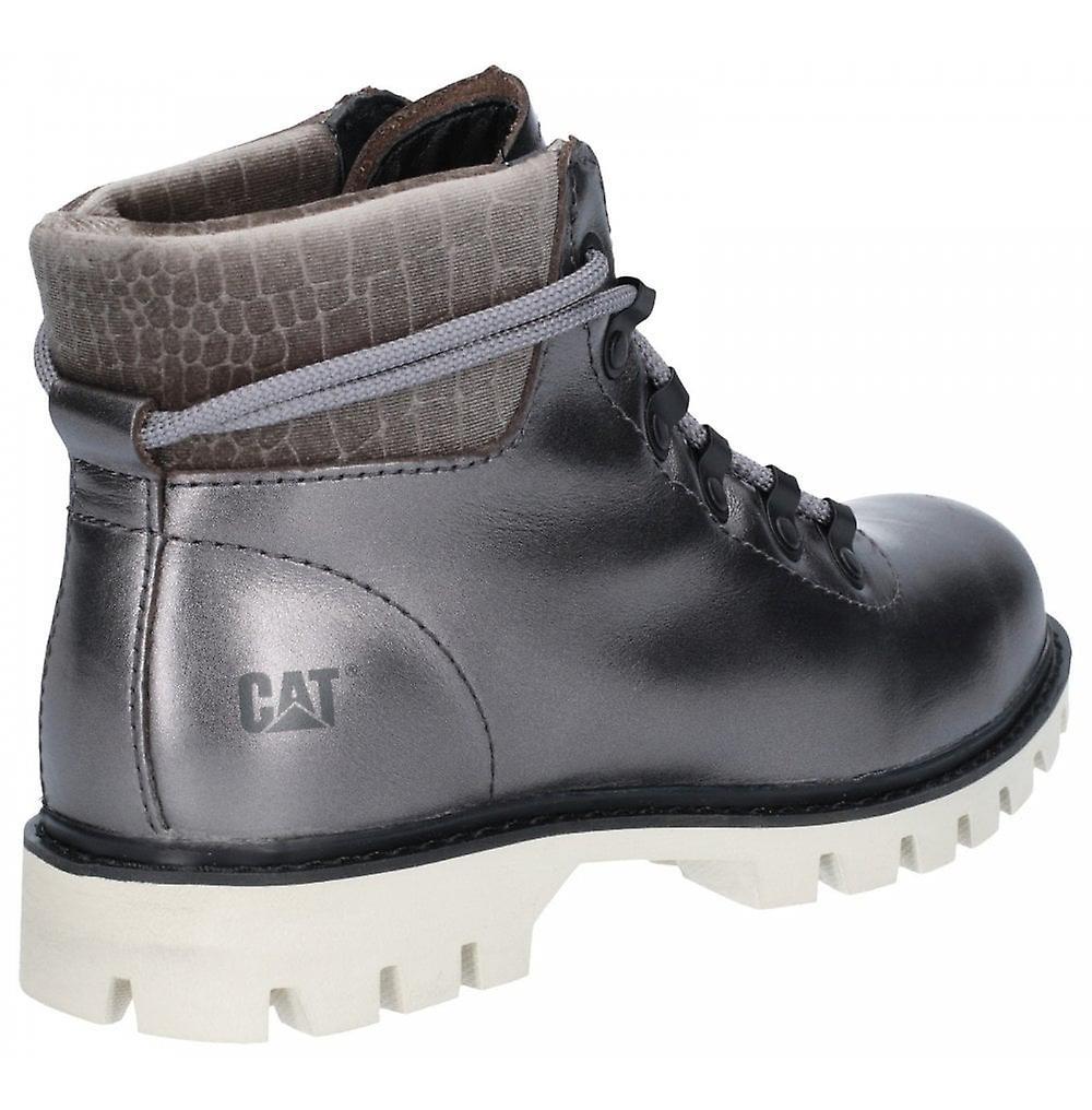 Cat Lifestyle Handshake Ankle Boot Gunmetal