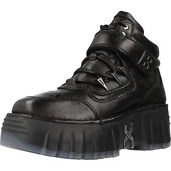 Bronx Shoes Booties Bronx Bmoon-walkk Color Black