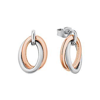 s.Oliver Jewel Women's Earrings Earrings Stainless Steel IP Rose 2027616