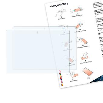 Bruni 2x Schutzfolie kompatibel mit Asus VivoBook S400C Folie