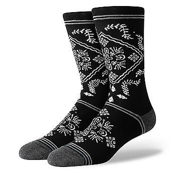Holdning Inline Menn's Sokker ~ Bandero svart