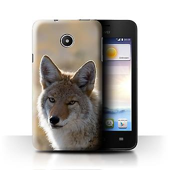 STUFF4 Case/Cover for Huawei Ascend Y330/Coyote/North America Animals
