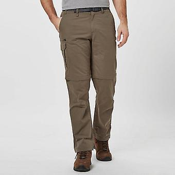 New Brasher Men's Convertible Trousers Brown