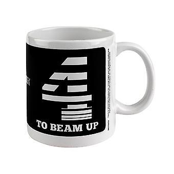 Star Trek, Mug - Four To Beam Up