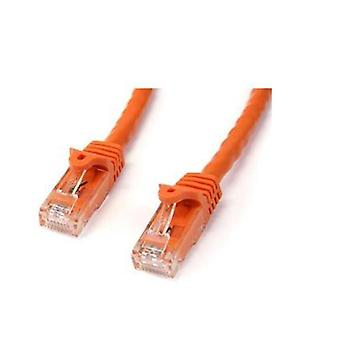 Startech 3M Orange Snagless Utp Cat6 Patch Cable