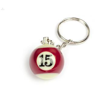 Keychain/Key Chain billiard Ball (NO #15)