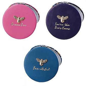 CGB Giftware The Beekeeper Bees Compact Mirror