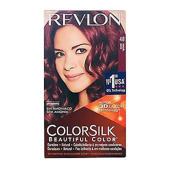 Väri Ei Ammoniakki Colorsilk Revlon Viininpunainen