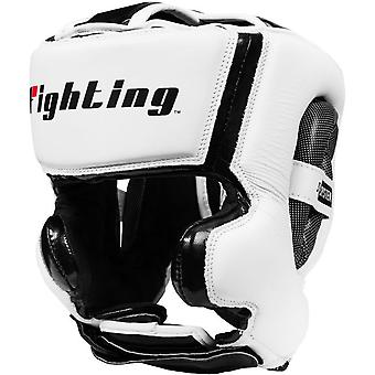 Fighting Sports S2 Gel Training Boxing Headgear - White/Black