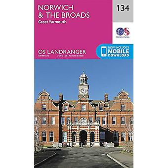 Norwich & The Broads - Great Yarmouth - 9780319263570 Book