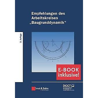 """Empfehlungen des Arbeitskreises """"Baugrunddynamik"""" - Buch plu"""