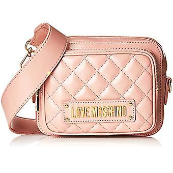 الحب موسكينو مبطن نابا بو حقيبة الكتف المرأة (روزا) 9.4 × 20.8 × 24.4 سم (W x H L)
