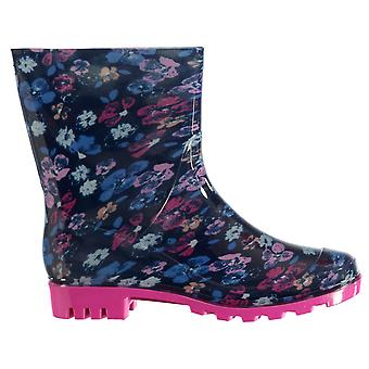 Rock and Rags Womens Print Ladies Wellies Wellingtons Boots Shoes