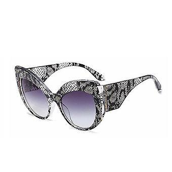 Oversized Sunglasses Cat Eyes Lace UV400 Khloe