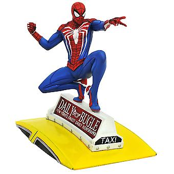Spider-Man on Taxi Gallery PVC Figure