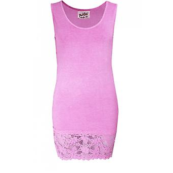 A Postcard from Brighton Sammy Pink Lace Vest