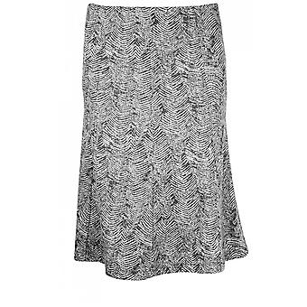 Steilmann Black & White Patterned Skirt