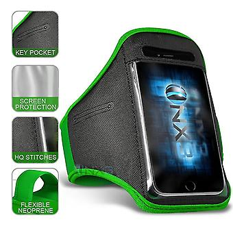 Ulefone Armor X7 XXLarge Green Sports Armband Waterproof Fitness Phone Case