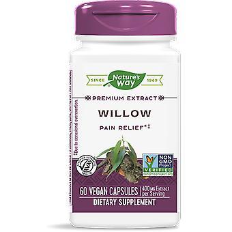 White Willow gestandaardiseerd (60 Capsules) - Nature's Way