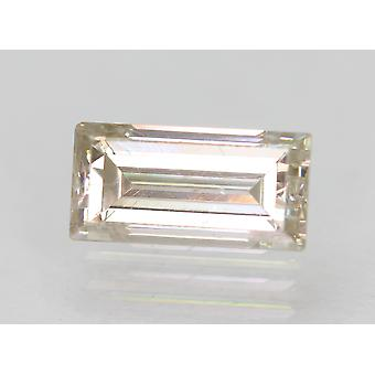 Certified 1.09 Carat J VS1 Baguette Enhanced Natural Diamond 8.07x3.99mm 2VG