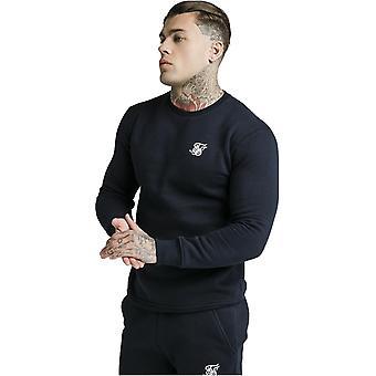 Sik Silk Sweatshirt Navy 78